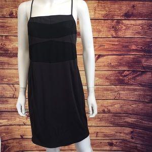 Chloé Dark Blue Navy Strap Backless Mini Dress